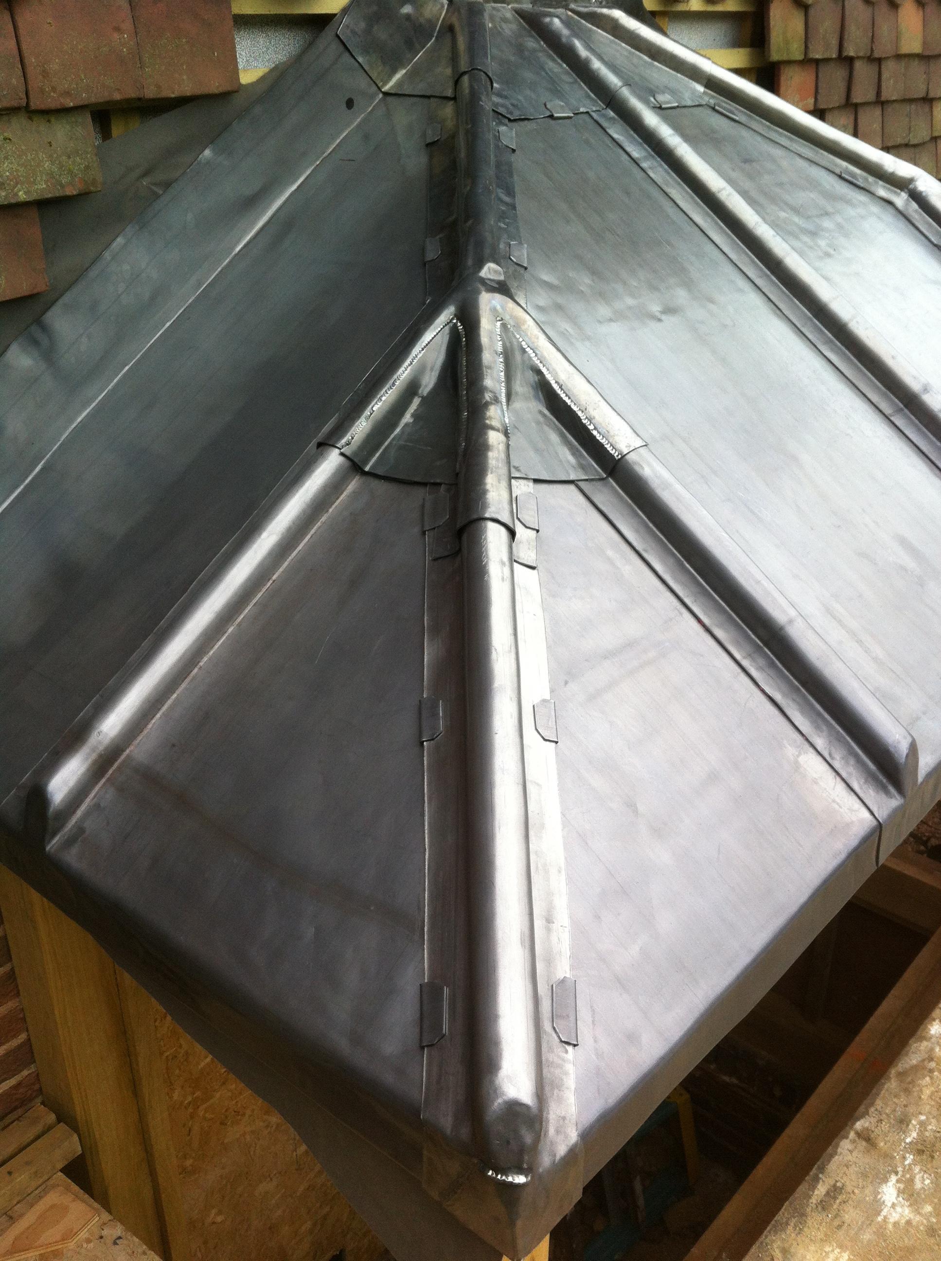 Lead Canopy Rt Alkin Leadwork