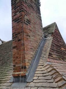 Lead Chimney Flashings, Rye, East Sussex