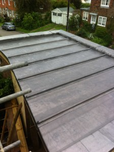 Lead Flat Roof, Winchelsea, East Sussex