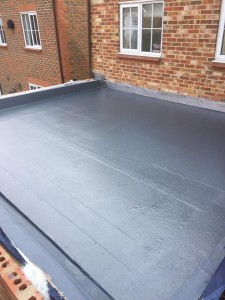 fibreglass flatroof, RT Alkin, fibreglass, flatroof