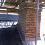 Lead Chimney in Tenterden