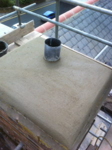 lead chimney flashings, RT Alkin, roofing Tenterden