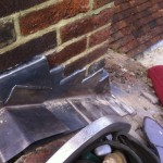 lead chimney flashings, Rt Alkin roofing, roofing cranbrook,