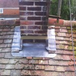 Lead Chimney Flashing, Rt Alkin Roofing,