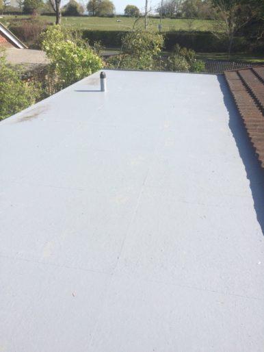 GRP Fibreglass Roofing, flatroof, tenterden, RT Alkin, fibreglass, flat roof