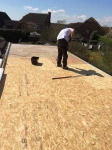 GRP Fibreglass Roofing, flatroof, tenterden, RT Alkin, fibreglass, flat roofing