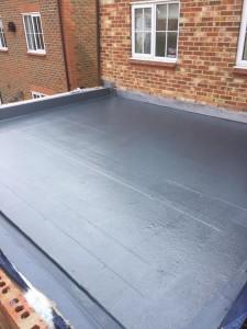 GRP Fibreglass Roofing, flat roof, RT Alkin, fibreglass, flat roof